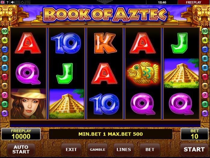 Book of Aztek gokkasten