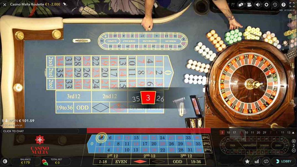 Betamo Live Casino Malta