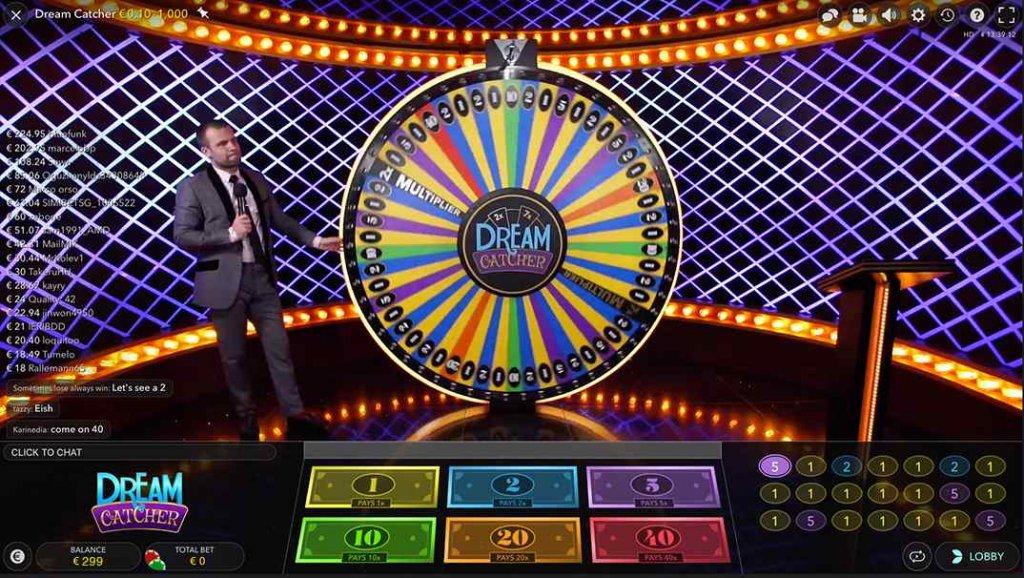 Betamo Dream Catcher Live Casino