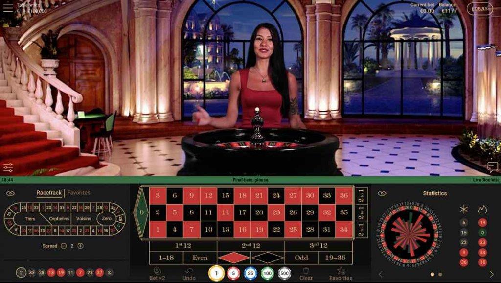 SlotsMagic Live Roulette by NetEnt
