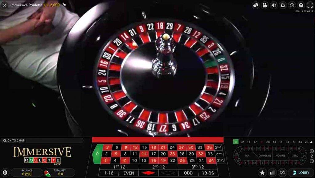 Spinia Immersive Roulette Live Casino