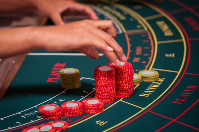 Live Baccarat online table