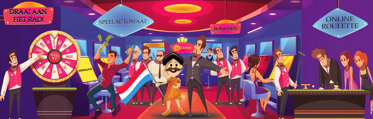 Casino's Guru in casino met vrienden
