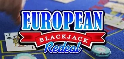 European Blackjack Redeal 416x199