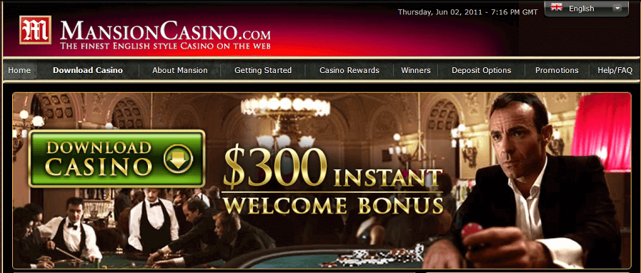 Mansion Casino in 2011
