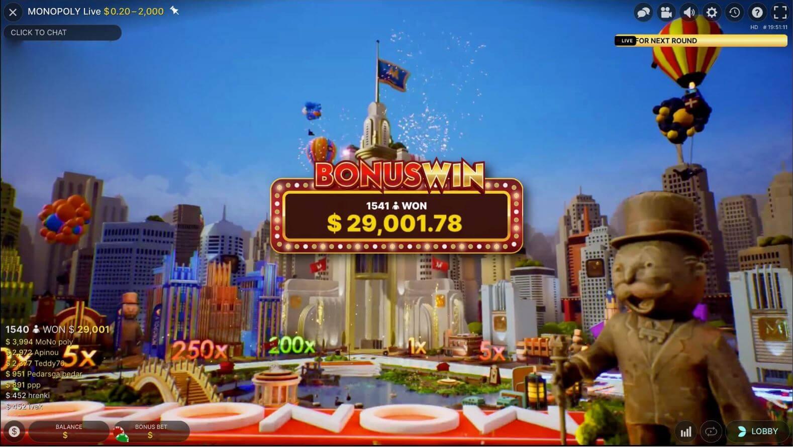 Monopoly Live bonuswinst-minified