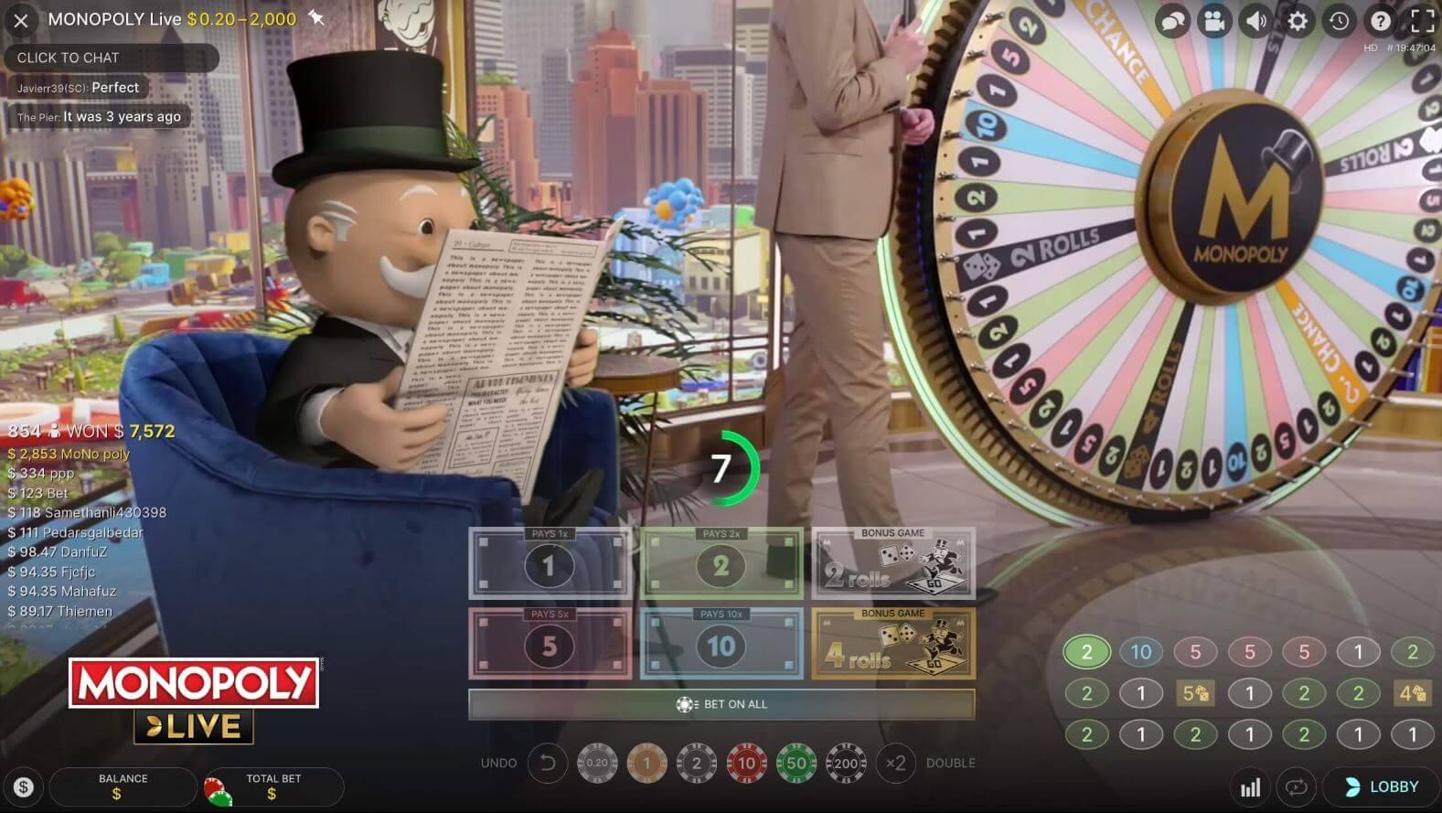 Monopoly Live hoe speel je monopoly live