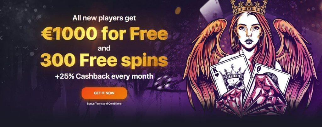 bonus praise casino