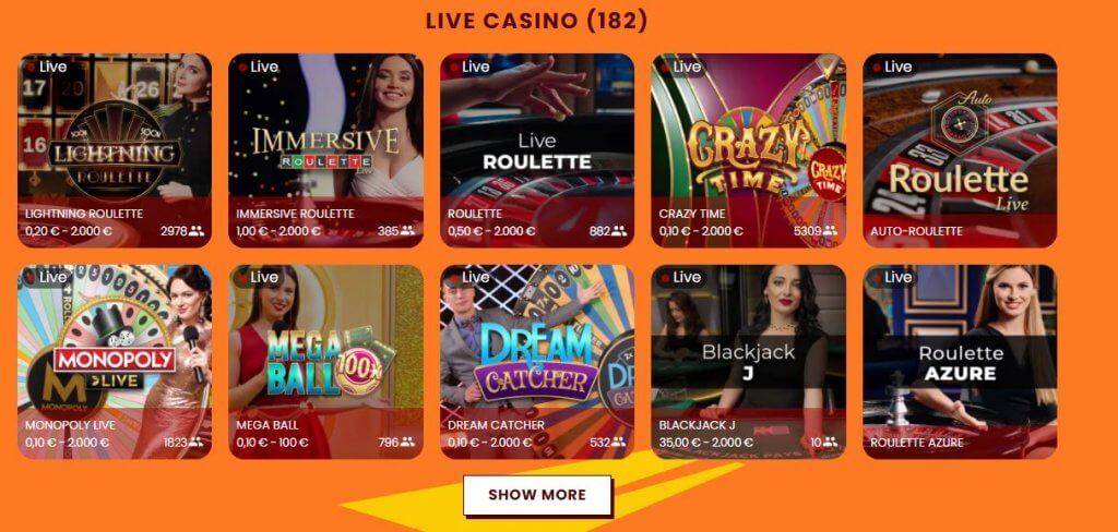 live casino amok