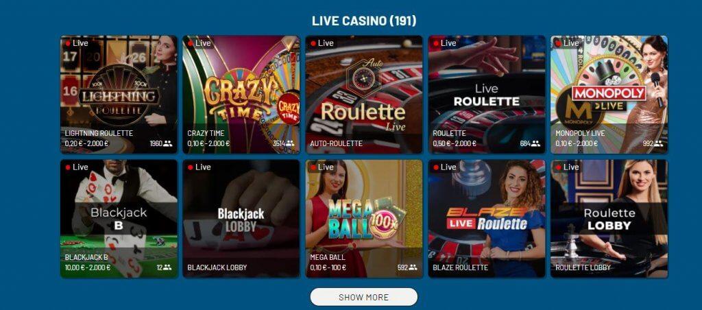 live casino refuel casino